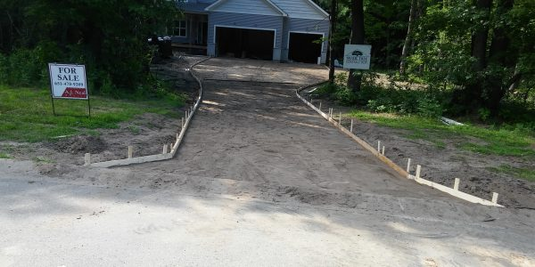 Residential Concrete DrivewayWarrington Florida