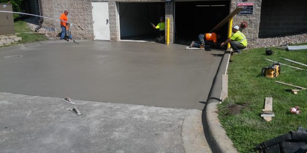 Residential Concrete Driveway 95356