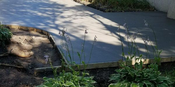 Concrete Patio 45.60269 -89.48249