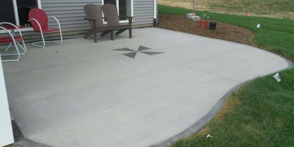 Cement Patio 55357