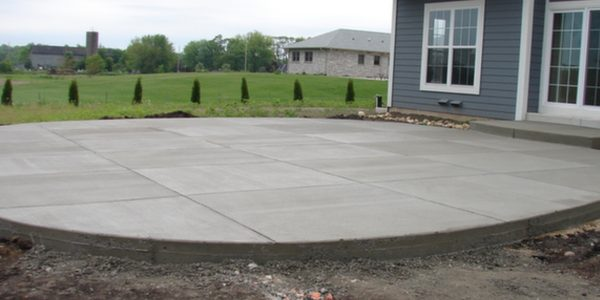 Cement Patio 45.16421 -90.10591