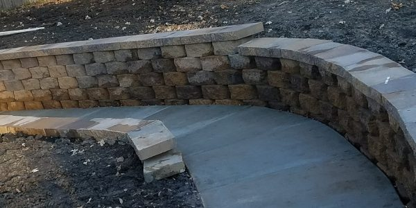 Concrete Retaining Walls 90631
