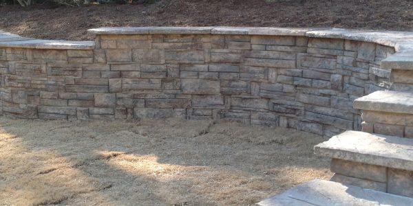 Concrete Retaining Walls 36.59634 -119.4504