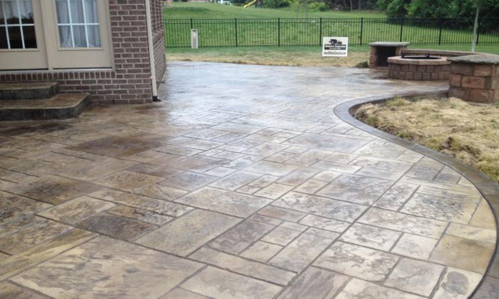 Decorative Concrete Clay Banks Wisconsin