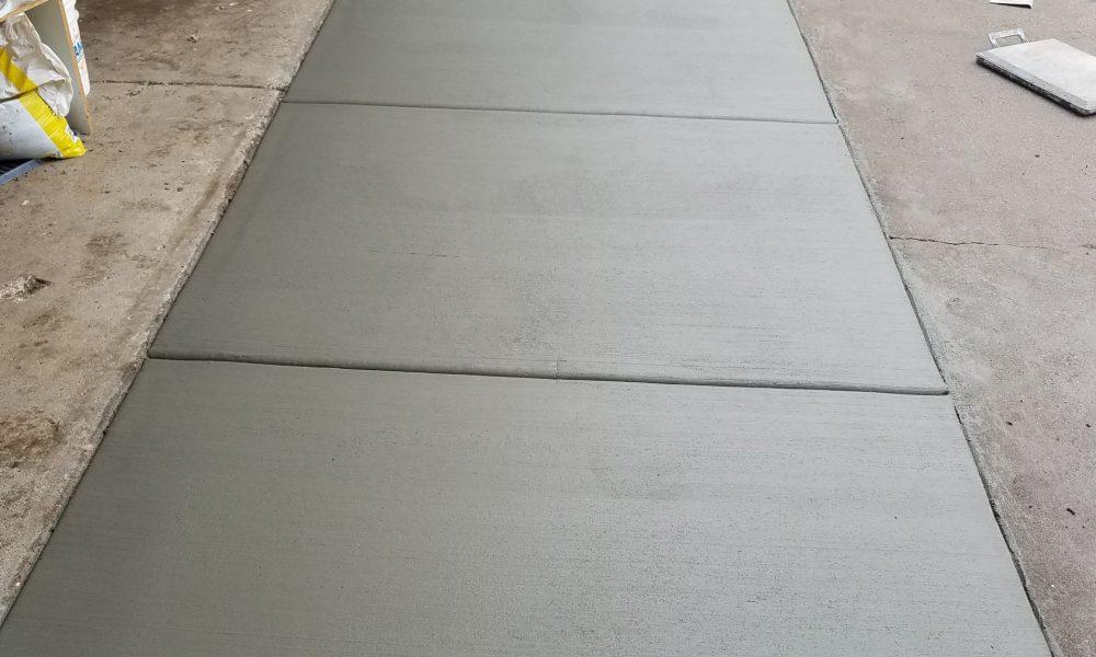 Concrete Apron